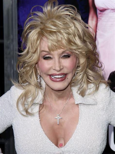 Dolly Parton No Wig Cloudy Girl Pics