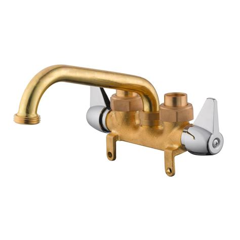 utility tub faucets design house 2 handle utility faucet in brass and