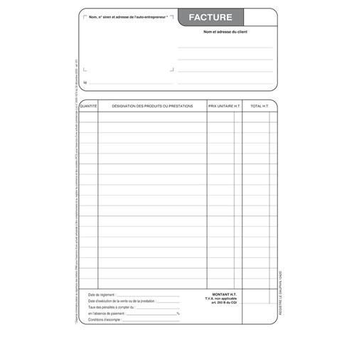 modele facture a imprimer gratuit document