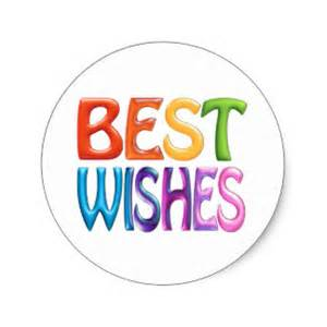best wishes stickers zazzle