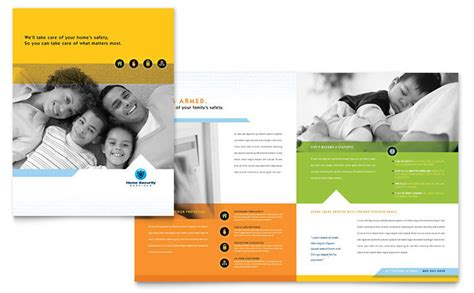 Accordion Fold Brochures 11x17 Digital Print And Signs Home Security Systems Brochure Template Design