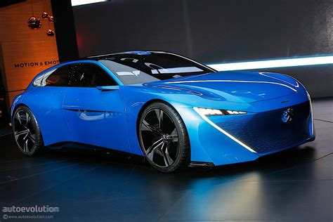 Peugeot Concept by Peugeot Instinct Concept Shines In Geneva With