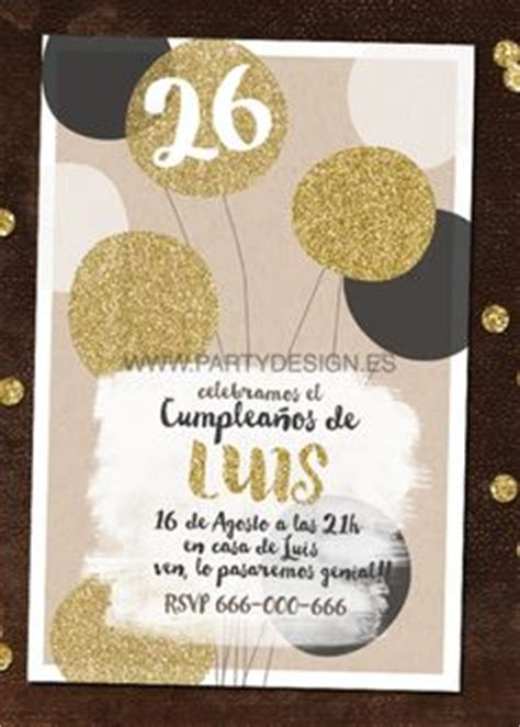 7 mejores im 225 genes de invitaciones cumplea 241 os adulto invitations anniversary