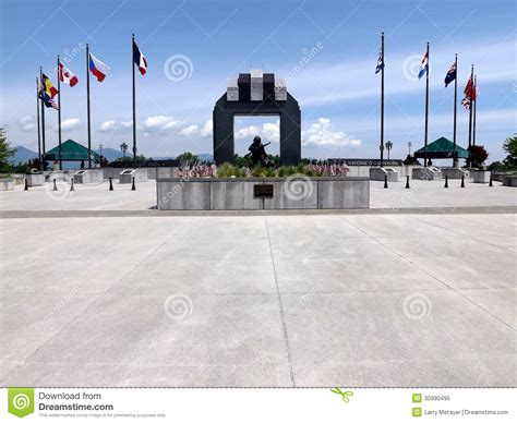 National D-Day Memorial, Bedford, VA, USA Editorial Image ...