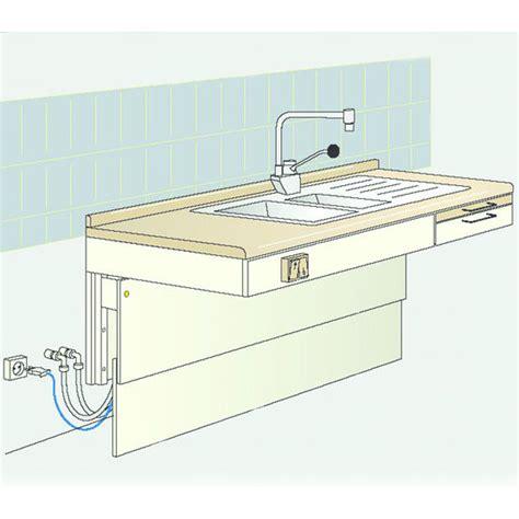 hauteur plan de cuisine plan de travail motorisé à hauteur réglable élévateur de