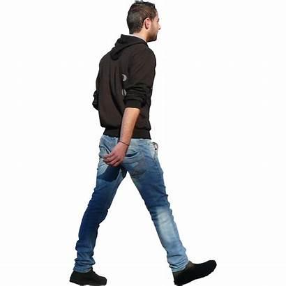 Walking Person Photoshop Transparent Entourage Cutout Render