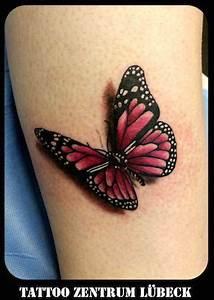 Kleiner Schmetterling Tattoo : galerie blumen und schmetterlinge tattoo zentrum l beck tattoos pinterest schmetterling ~ Frokenaadalensverden.com Haus und Dekorationen
