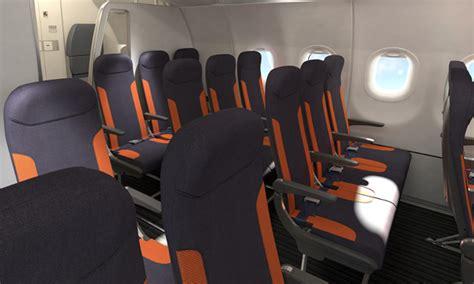 siege easyjet easyjet équipe 150 airbus de sièges recaro
