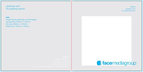 greeting card template indesign