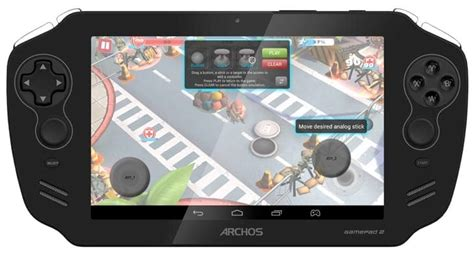 Archos Gamepad 2 Vs Ps Vita In 2013  Product Reviews Net