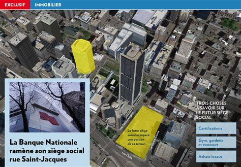 siege social agnes b la banque nationale ramène siège social la presse