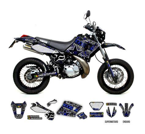 Yamaha Dt 125 Rex  Rockstar Fox Graphics Series Tmx