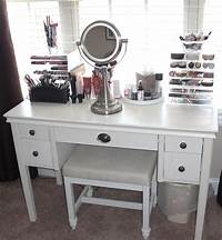 make up vanity Bedroom. Luxurious White Makeup Vanity With Drawers For ...