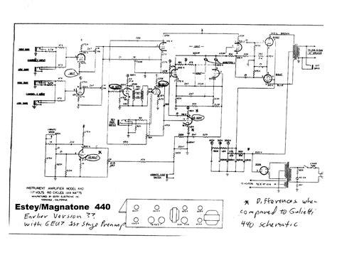 magnatone  sch service manual  schematics