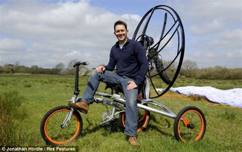 The Amazing Flying Bicycle That Means Traffic Jams