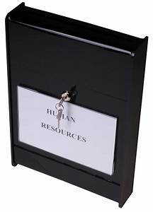 wall mount ballot box acrylic container with top slot With lock box with slot for documents