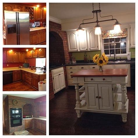 kitchen cabinets painted with sloan chalk paint sloan chalk paint before after chalk paint 9861