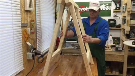 kostüm schnell selber machen unterstell klappb 246 cke schnell einfach selbst machen make folding sawhorses
