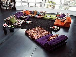 Cheap Leather Sofa Sets Living Room Floor Cushion Sofa