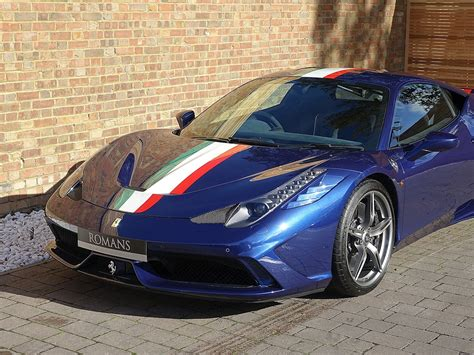 Beautiful ferrari 458 speciale aperta. 2015 Used Ferrari 458 Speciale Ab   Tour De France Blue