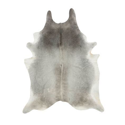 Grey Cowhide Rugs by Southwest Rugs Medium Gris Gray Cowhide Rug Lone