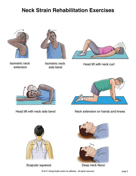 17 best images about exercises for neck on
