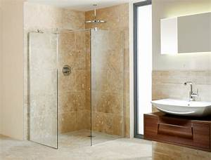 Wet floor shower areas for Wet floor bathroom designs