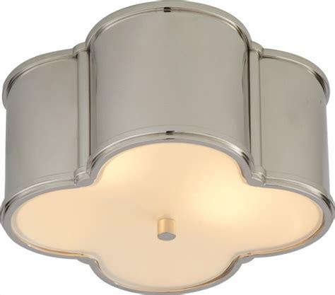 Hamilton Ceiling Fans by Basil Flush Mount Light Contemporary Flush Mount