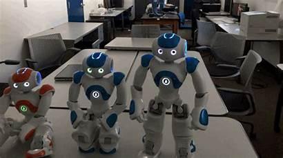 Nao Robot Self Awareness Exhibits Moment Dance