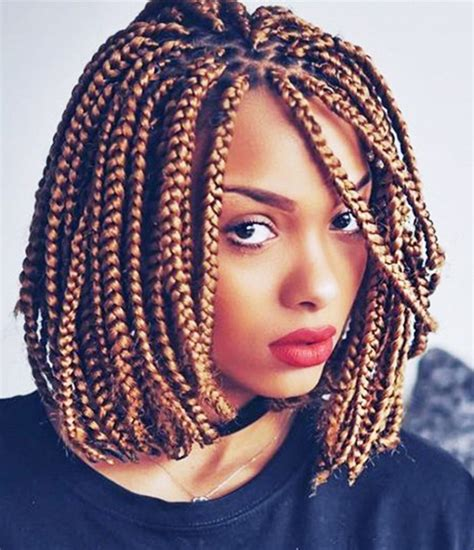 Different types of hair braid styles and beautiful braids for kids, short hard, long hair, or hair to the blending a fishtail braid into your low bun can give you a quick pop of flair. 14 Dashing Box Braids Bob Hairstyles for Women | New Natural Hairstyles