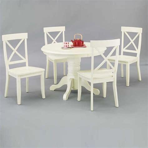 bistro table in antique white 5177 30