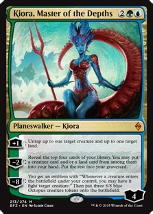 kiora planeswalkers magic the gathering