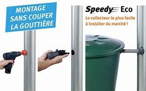 Collecteur D Eau De Pluie Pour Gouttières : collecteur recuperateur eau de pluie speedy eco garantia ~ Dailycaller-alerts.com Idées de Décoration