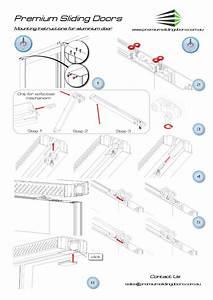 Sliding Doors Drawings  U0026 Gongh 80 Sliding Door Section