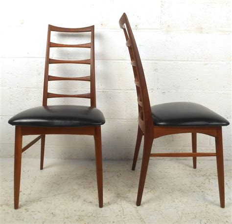 ladder back chairs for set of niels koefoed ladder back dining chairs for raymor 8861