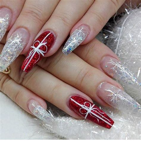 The 25+ best Red glitter nails ideas on Pinterest | Red ...