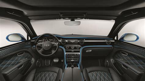 2018 Bentley Mulsanne Speed Design Series Interior