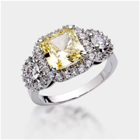 brides and grooms choose high quality cubic zirconia rings