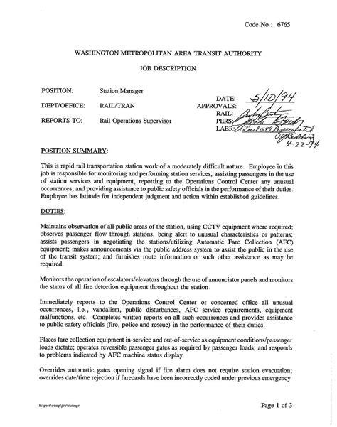 Subway Responsibilities Resume by Tow Motor Operator Description Impremedia Net