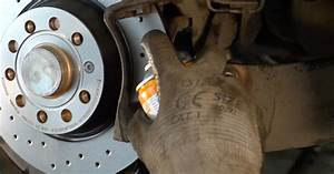 How To Change  Vw Passat 3c B6 Variant Rear Brake Pads