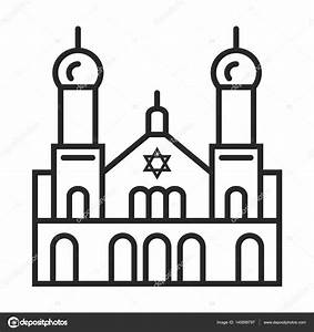 Synagogue clipart black and white - Pencil and in color ...