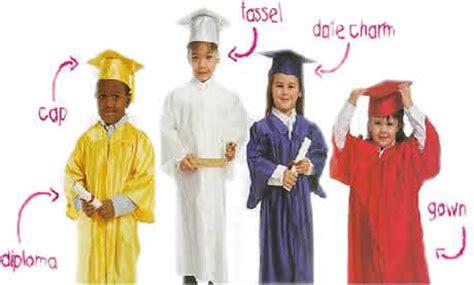 kindergarten caps and gown by saxon 119 | kinderkids