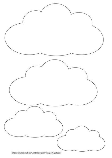 theme etoile chambre bebe molde de nuvem 46 modelos para imprimir artesanato passo a passo