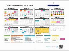Calendario Escolar Curso 20182019 Secretaría Alojaweb