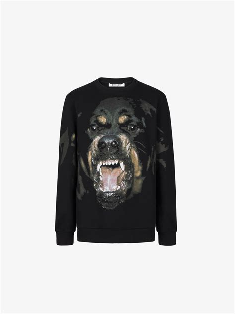 givenchy rottweiler printed sweatshirt givenchy paris