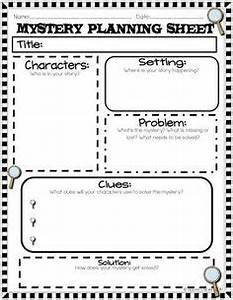 Investigating the mystery genre scholasticcom 4th for Mystery novel outline template