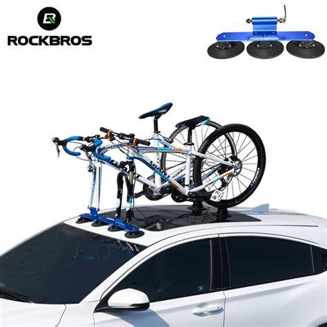 best roof bike rack rockbros bicycle rack roof top suction bike car rack