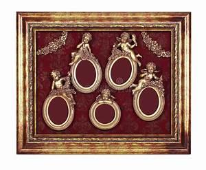 Ensemble Cadre Photo : ensemble de cadres baroques ovales photo stock image du illustration d coratif 71691102 ~ Teatrodelosmanantiales.com Idées de Décoration
