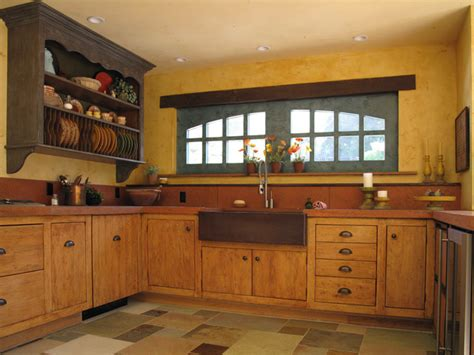 french country kitchen rustic kitchen san francisco  fitzgerald studio