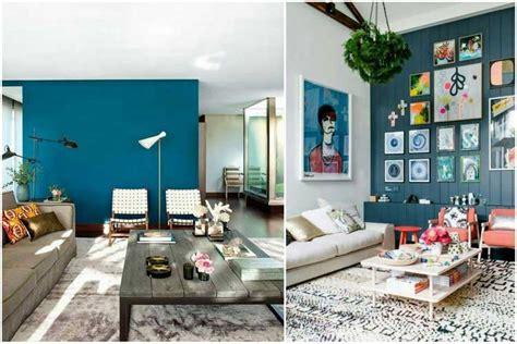 Osez Une Dco Couleur Bleu Canard Awesome Salon Bleu Canard Et Gris Gallery Awesome